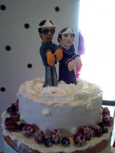 人形もそうですが、ラズベリー&ブルーベリーの完成度の高さに脱帽。