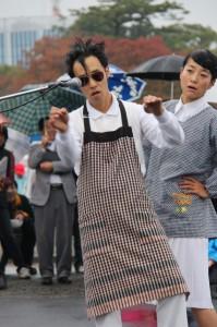静岡2015、大会3日目の雨で