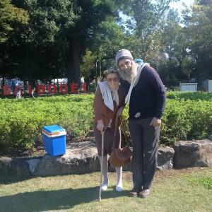 M&Mme Poireau au Japon! -L'arbre à Vache!