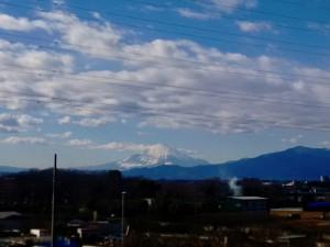 0117本日の富士山